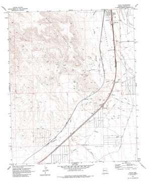 Yucca topo map