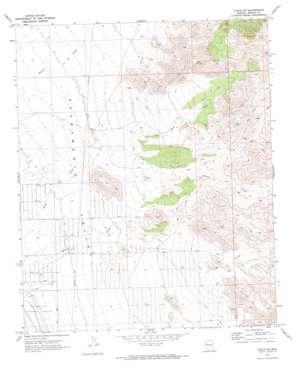 Yucca Ne topo map