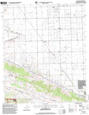 Del Sur topo map