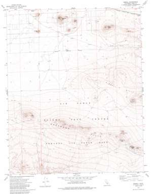 Bissell topo map