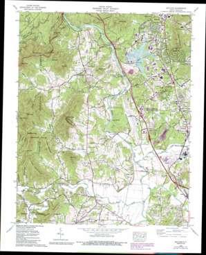 Skyland Topographic Map Nc Usgs Topo Quad 35082d5