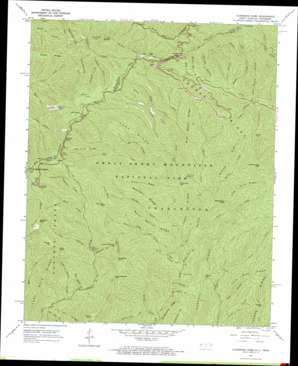 Clingmans Dome topographic map, NC, TN - USGS Topo Quad ...
