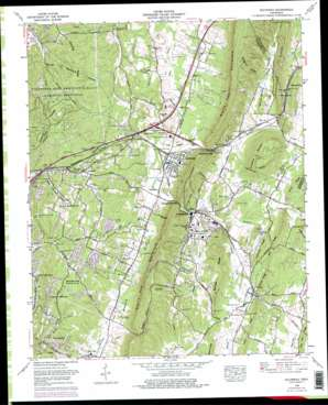 Ooltewah USGS topographic map 35085a1