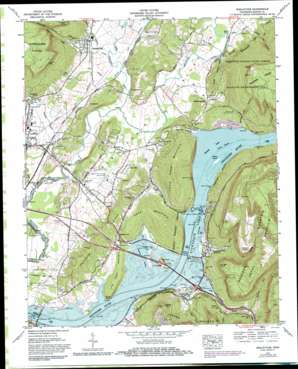 Sequatchie topo map