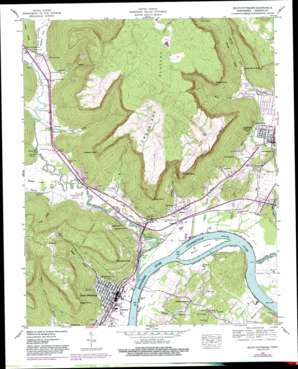 South Pittsburg topo map
