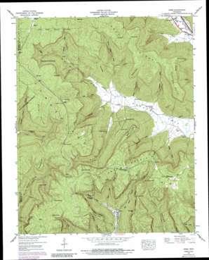 Orme topo map