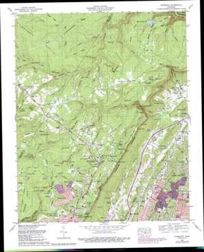 Fairmount topo map