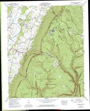 Ketner Gap topo map