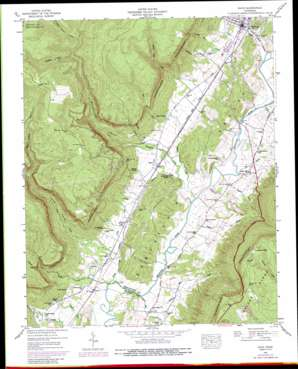 Daus topo map