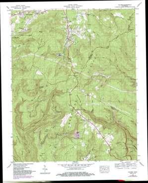 Palmer USGS topographic map 35085c5