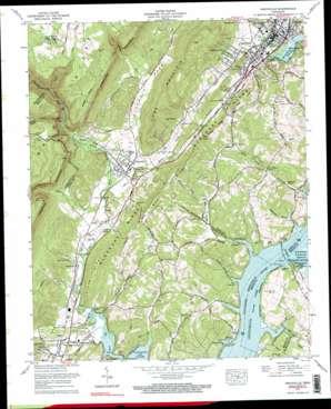 Graysville topo map