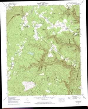 Brayton topo map