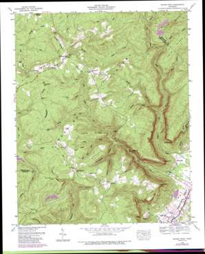Savage Point USGS topographic map 35085d4