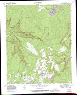 Collins USGS topographic map 35085d5