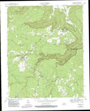 Altamont topo map