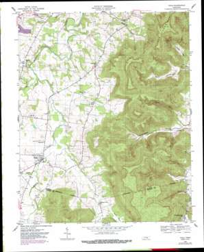 Viola topo map