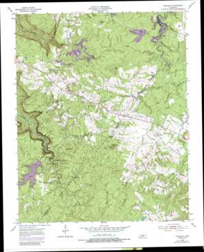 Sampson topo map