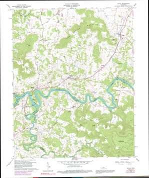 Doyle topo map