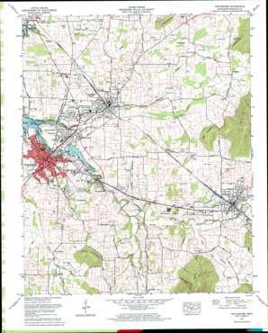 Winchester topo map