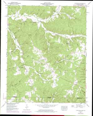 Blytheville USGS topographic map 35088a1