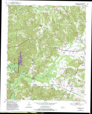 Chewalla topo map