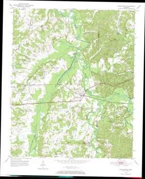 Pocahontas topo map