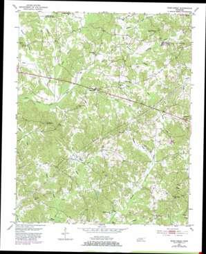 Rose Creek topo map