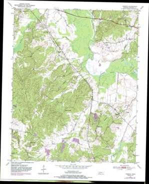 Hebron topo map