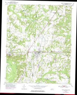 Grand Junction topo map