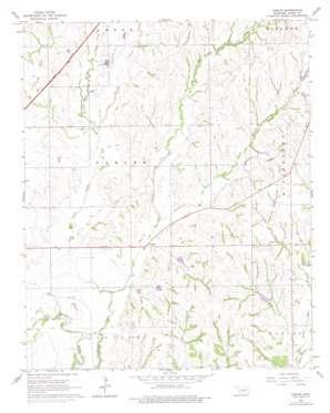 Tabler topo map