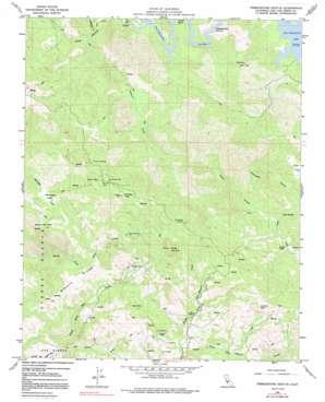 Pebblestone Shut-In topo map