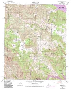 Bryson topo map