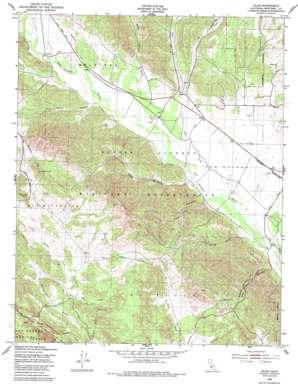 Jolon topo map