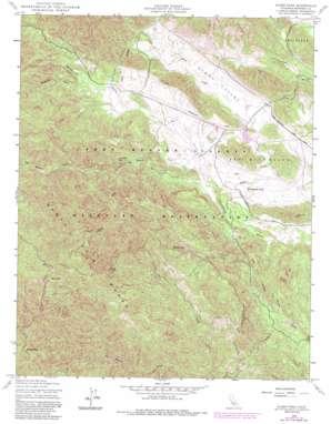 Alder Peak topo map