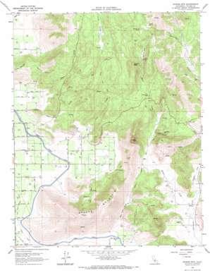 Stokes Mountain topo map