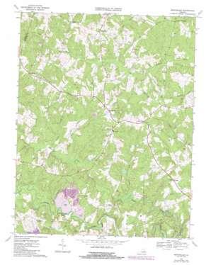 Montpelier topo map