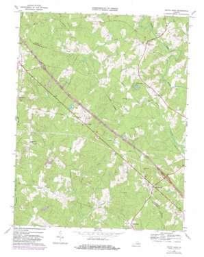 South Anna topo map