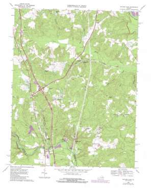 Ruther Glen topo map