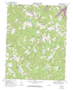 Buckner topo map