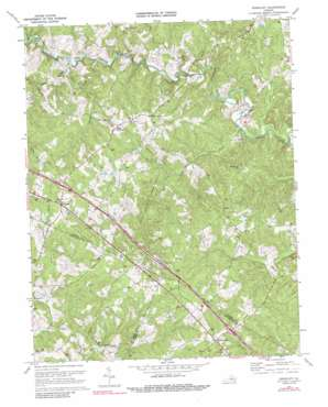 Ferncliff topo map