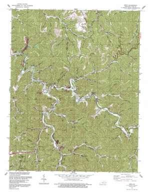Meta topo map