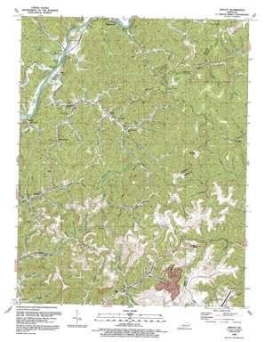 Offutt topo map