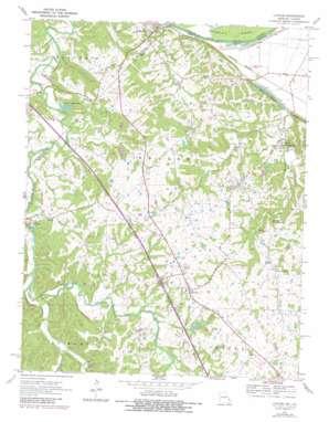 Lithium topo map
