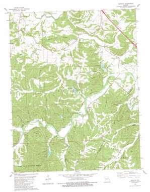 Minnith topo map
