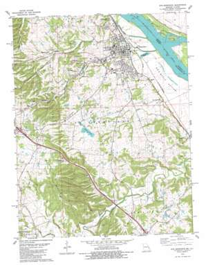 Sainte Genevieve topo map