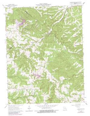 Lawrenceton USGS topographic map 37090h3