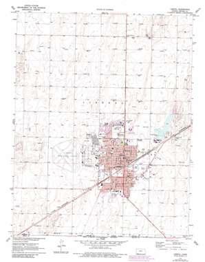 Liberal topo map