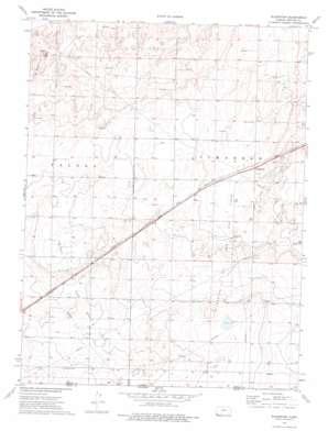 Wilburton topo map