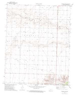 Elkhart Nw topo map