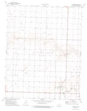 Richfield topo map